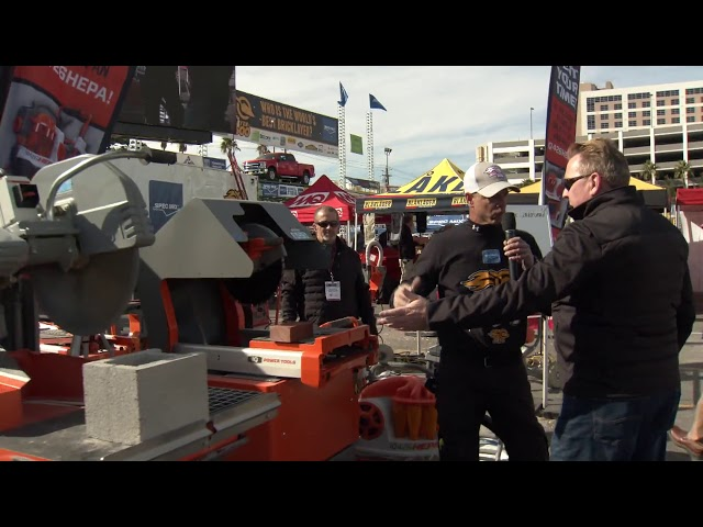 iQ Power Tools at the 2020 SPEC MIX BRICKLAYER 500
