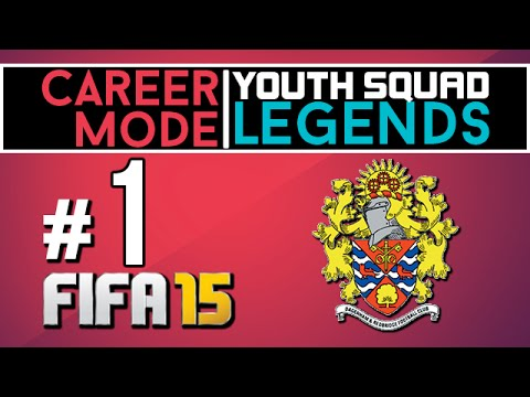 FIFA 15 - Career Mode - Dagenham - Co Op Youth Squad Legends EP1 w/ CutzyGaming