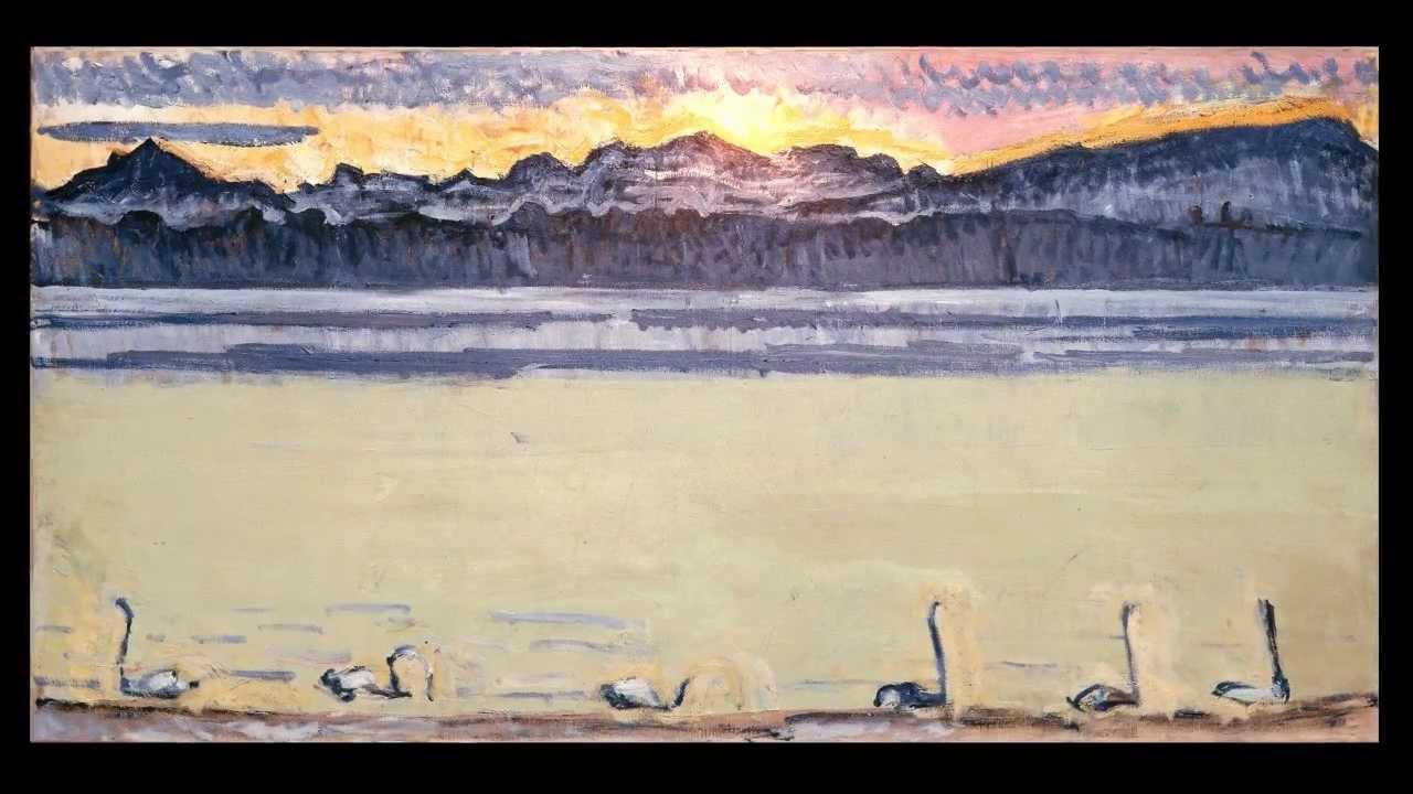 Bildergebnis für lac léman+ Hodler