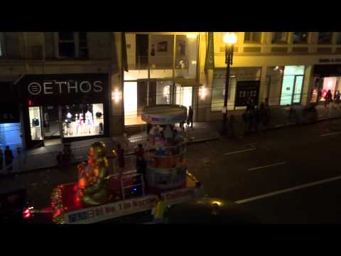 International School of the Peninsula float @  2015 San Francisco Chinese New Year parade   3/7/15