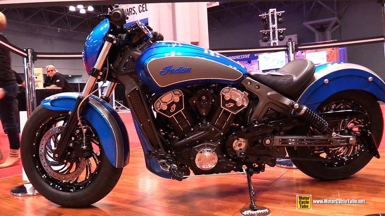 2015 Indian Scout Custom Bike Walkaround 2014 New York