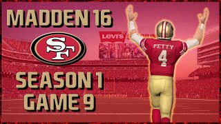Madden 16 Franchise: San Francisco 49ers | Year 1, Game 9 vs Falcons