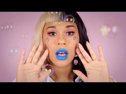 Melanie Martinez Cry Baby Makeup Tutorial - YouTube