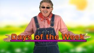 7 Days of the Week Song | Days of the Week Song | Days of the Week | Jack Hartmann