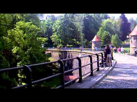 Priehrada Harcov, Liberec, Česka republika