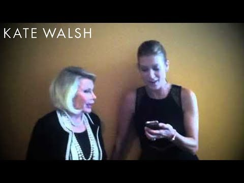 Boyfriend Questions With Joan Rivers | Kate Walsh
