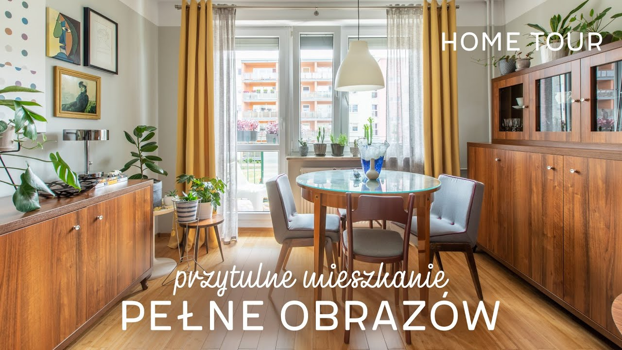 Mieszkanie pełne obrazów | HOME TOUR