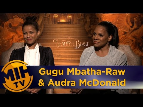 Gugu Mbatha-Raw & Audra McDonald Beauty & the Beast Interview