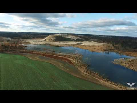 Aerial Survey of Picher, Oklahoma,  December 2016 (Ghost Town Drone Footage)