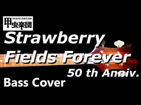Strawberry Fields Forever  (The Beatles - Bass Cover) 50th Anniversary