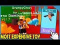 I Got The Most Expensive Toy In Roblox Toy Simulator (New Pet Simulator)