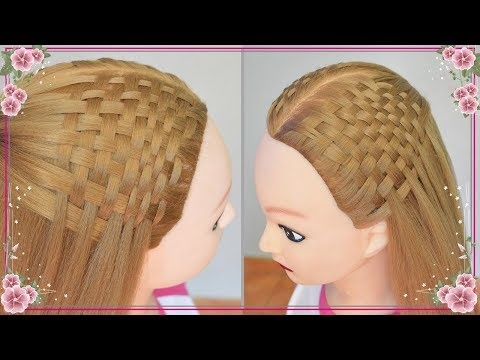 TRENZA ESTERA o TAPETE : Peinados Faciles y Rapidos - Semirecogidos con Trenzas