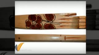Hand Design Backscratcher Wooden Carving
