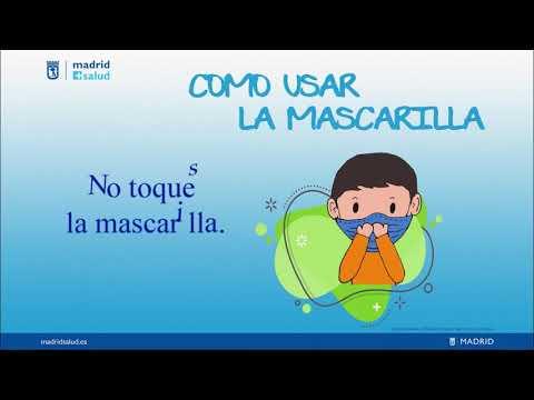 Uso de mascarillas (infantil) - YouTube