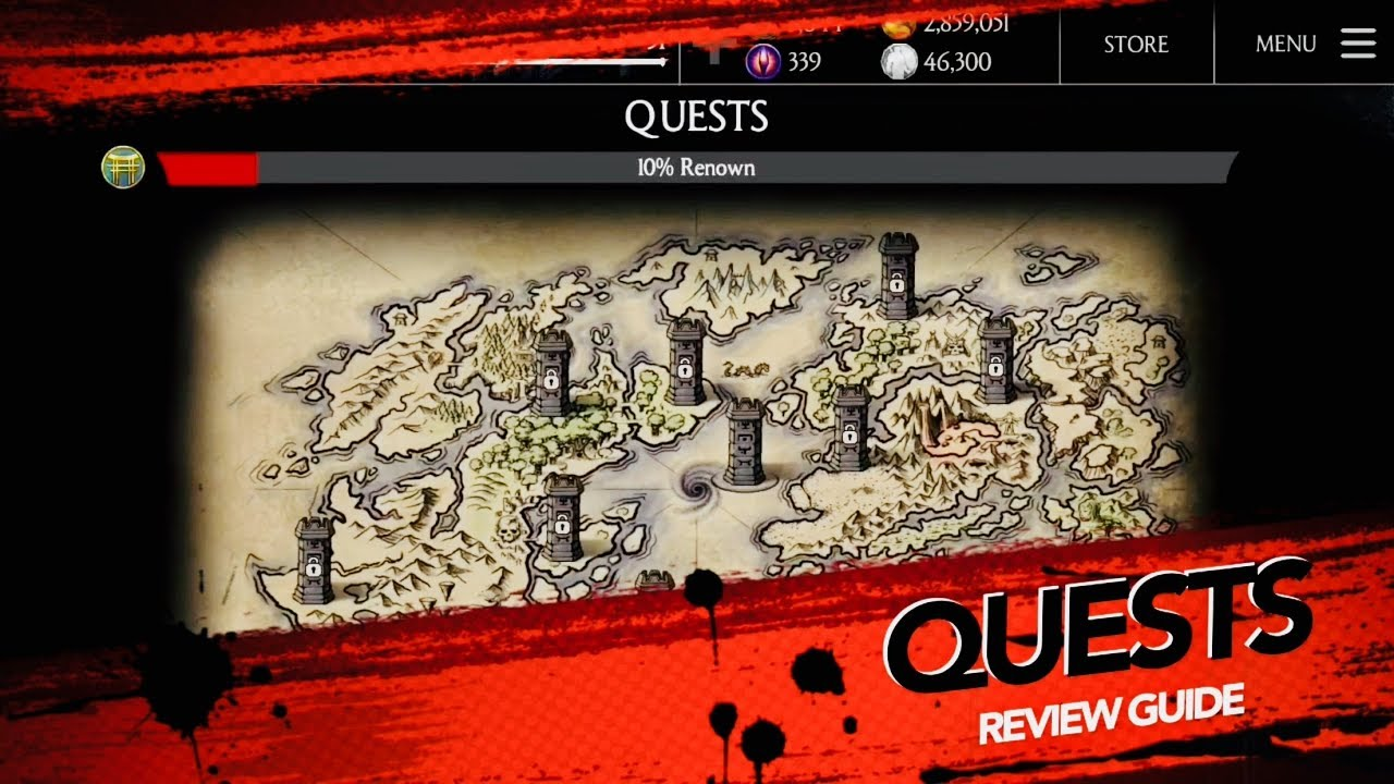 QUESTS ARE HERE !! HOW TO PLAY NEW QUESTS REVIEW - Mkx New update 1 16 1 iOS