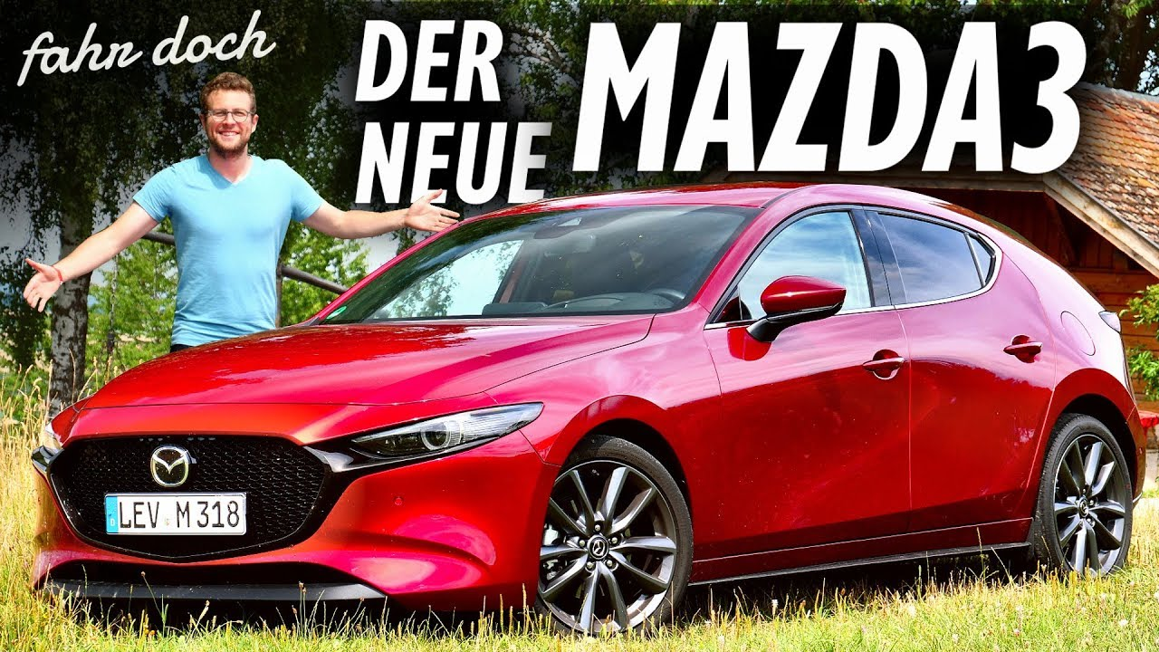 mazda 3 skyactiv g 2 0 m hybrid 2019 review und fahrbericht fahr doch youtube. Black Bedroom Furniture Sets. Home Design Ideas