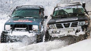 Jeep Cherokee XJ 4.0 vs Nissan Patrol (BMW 3.0 diesel engine)