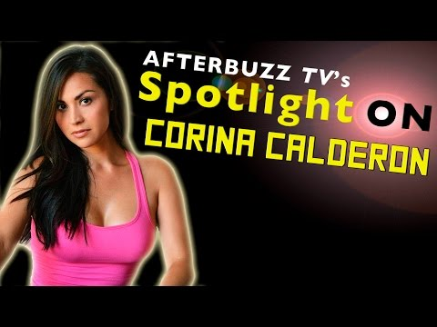 Corina Calderon   AfterBuzz TV's Spotlight On