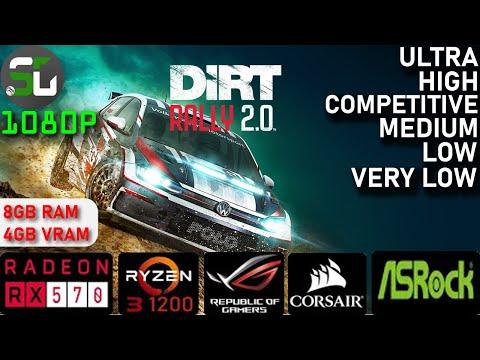 Dirt Rally 2.0 RX 570 RYZEN 3 1200 |
