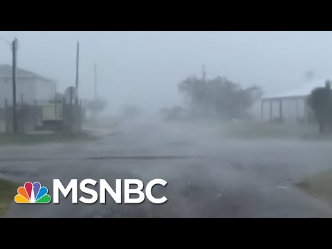 Hurricane Makes Disaster Of Already Catastrophic COVID Situation | Rachel Maddow | MSNBC