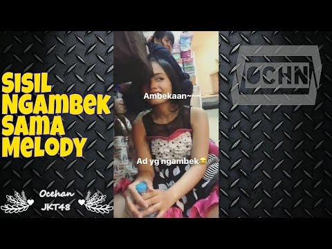 Sisil JKT48, Cranky with Melody JKT48
