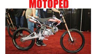 Motoped downhill mountain bike / mopeds :SEMA Las Vegas
