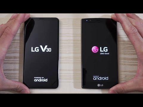 LG V30 vs LG G4 - Speed Test! WTH lol (4K)