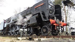 BR 9F 92203 Black Prince 2-10-0 25th March 2016 North Norfolk Railway