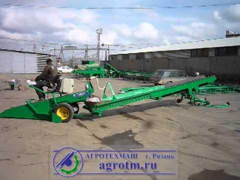 Транспортер подборщик картофеля стпк 50 04 крот движущиеся части конвейеров должны быть ограждены