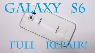 Galaxy S6 Screen Repair, Battery Replacement, Charging Port Fix Complete! GS6