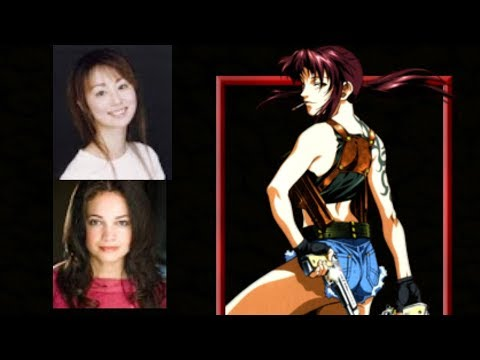 Anime Voice Comparison- Revy (Black Lagoon)