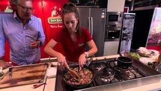 Pork And Porcini Mushroom Egg Pappardelle