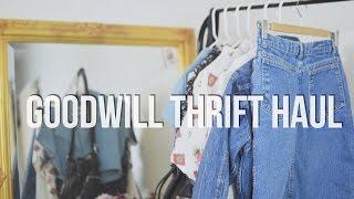 Goodwill Thrift Haul | The Fashion Citizen