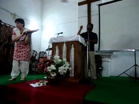 Sowing the Seed the word of God Message by Pastor Kay Sylvester on 9th Oct 2011 at Allahabad Pentecostal Church