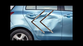 Reverse - How To Basic - How To Fix a Dented Car