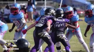 2016 cy fair rookie raven s life series week 8 vs southwest houston rookie marlins