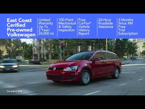 What Is Certified Pre-Owned - East Coast Volkswagen