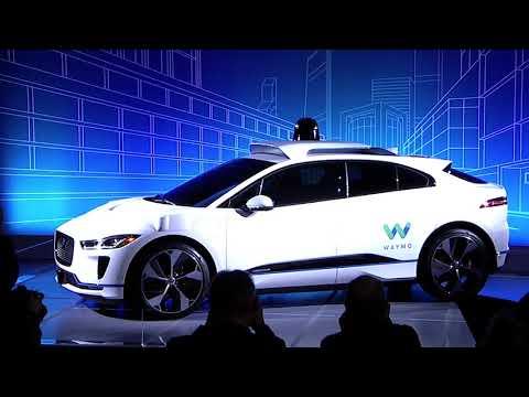 Waymo Live Unveil Highlights: Self-Driving Jaguar I-PACE