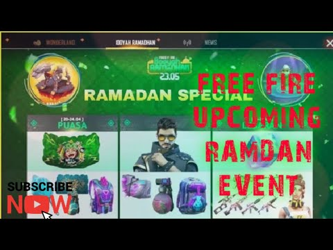 FREE FIRE UPCOMING RAMADAN EVENT || FREE FIRE TIPS & TRICKS|| KNIGHT'S OFFICIAL