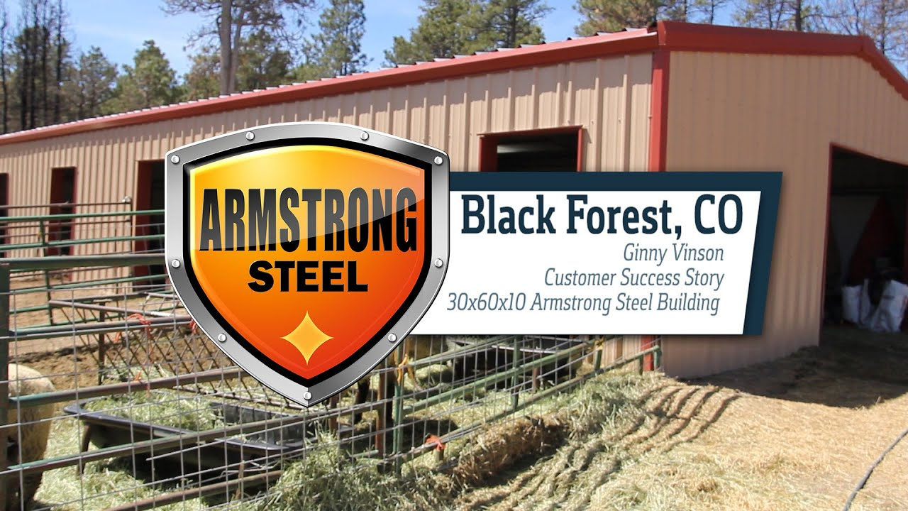Armstrong Steel Building - Customer Success Story: Ginny Vinson ...