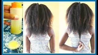 Mon SECRET pour la POUSSE RAPIDE des cheveux crépus | Jus d'oignon 100% pur [DIY] | Natural Neekavee