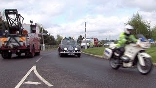 2012 brooklands mayday emergency vehicles day part 7 the emergency vehicle convoy