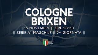 Serie A1M [9^]: Cologne - Brixen 26-34