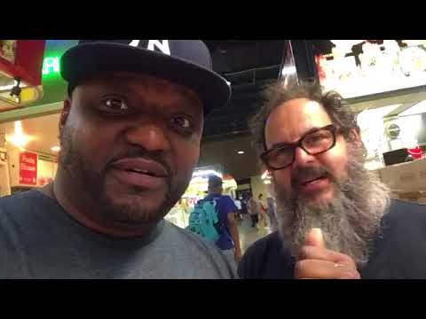 Comedian Aries Spears FLAMES Lexington Market In Baltimore