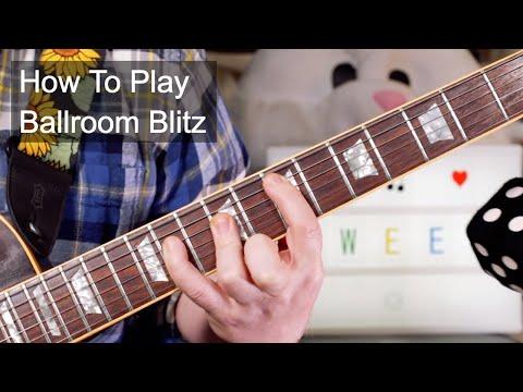 'Ballroom Blitz' The Sweet Guitar Lesson