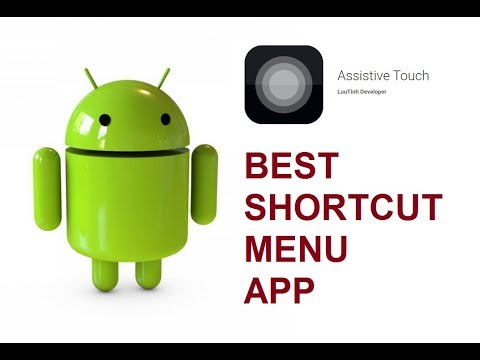 Assistive Touch Android App - Best App For Shortcut Menu