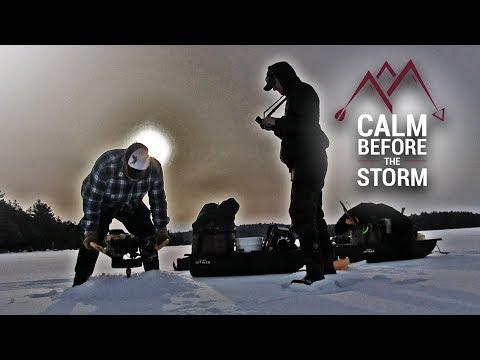 Chasing Lakers -Maine Ice Fishing 2019
