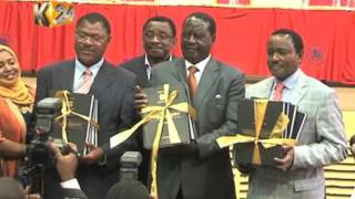 Raila: The Commissioners should leave before 1st October