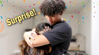 SURPRISING MY LITTLE SISTER FOR HER BIRTHDAY *SO CUTE*