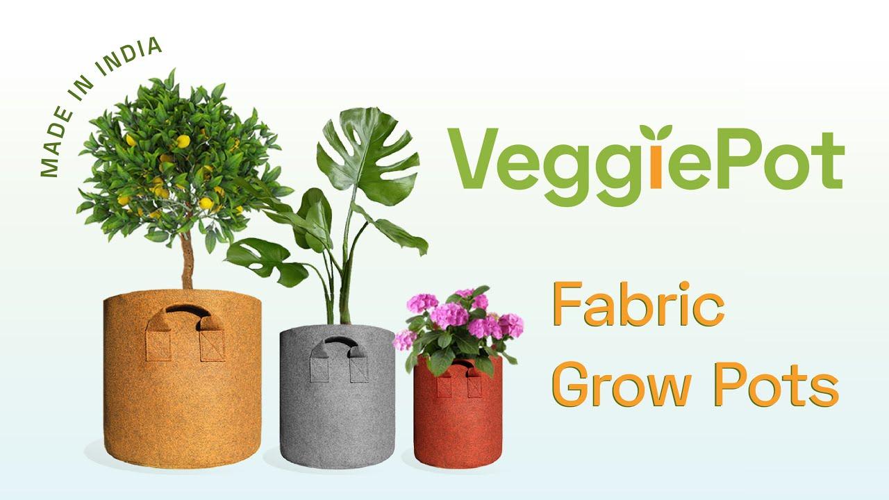 VeggiePot — Breathable Fabric Grow Pots